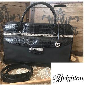 Auth Francesca Black Briefcase or Laptop Bag